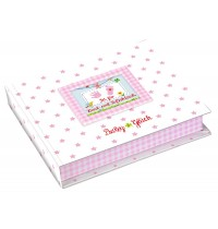 Die Spiegelburg - Baby Glück - Set für Hand- und Fußabdruck, rosa