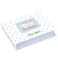 Die Spiegelburg - Baby Glück - Set für Hand- und Fußabdruck, hellblau