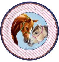 Die Spiegelburg - Pferdefreunde - Partyteller 8 Stück