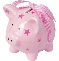 Die Spiegelburg - Baby Glück - Mein erstes Sparschweinchen, rosa