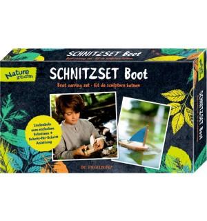 Die Spiegelburg - Nature Zoom - Schnitzset Boot