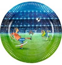 Die Spiegelburg - Fußball - Partyteller 8 St.
