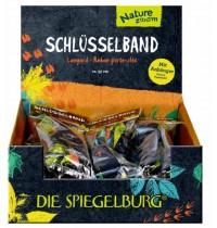 Coppenrath Verlag - Die Spiegelburg - Schlüsselband Nature Zoom - mit Wolfanhänger