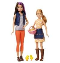 Mattel - Barbie - Spaß auf dem Bauernhof Skipper und Stacie Puppen