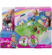 Mattel - Barbie - Traumvilla Abenteuer Chelsea Fußballerin Puppe und Spielset