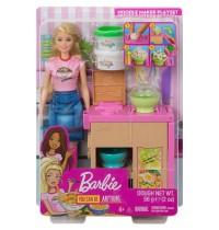 Mattel - Barbie - Pasta-Spielset mit Puppe blond