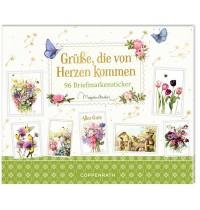Coppenrath Verlag - Stickerbuch - Grüße, die von Herzen kommen