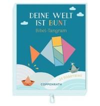 Coppenrath Verlag - Deine Welt ist bunt - Bibel-Tangram, Schachtelspiel