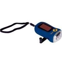 Die Spiegelburg - Nature Zoom - Dynamo-Taschenlampe blau