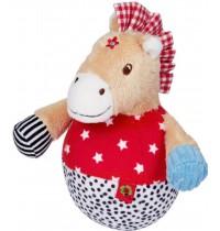 Die Spiegelburg - Baby Glück - Steh-auf-Pferdchen mit Glockenspiel