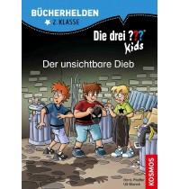 Ravensburger Buch - Bücherhelden - Die drei ??? Kids - 2. Klasse Der unsichtbare Dieb