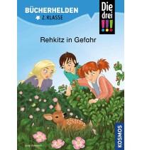 Ravensburger Buch - Bücherhelden - Die drei !!! - 2. Klasse Rehkitz in Gefahr
