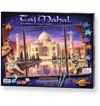 Schipper Arts & Crafts - Meisterklasse Triptychon - Taj Mahal - Denkmal der Liebe