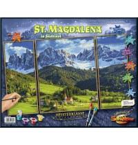 Schipper Arts & Crafts - Meisterklasse Triptychon - St. Magdalena in Südtirol
