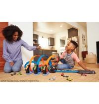 Mattel FTB65 Hot Wheels® Korkenzieher-Crash Trackset