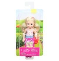 Mattel - Barbie - Spaß auf dem Bauernhof Chelsea Puppe mit Gießkanne