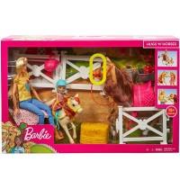 Mattel - Barbie - Reitspaß mit Barbie blond