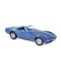 1/18 Chevrolet Corvette Convertible - Blau metalik  Norev
