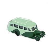 1/87 Citroën U23 Autocar 1947 - Light & Dark Green  Norev