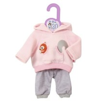 Zapf Creation - Dolly Moda Sport-Outfit Pink 30cm