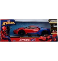 Jada Toys - Marvel Spider-Man RC 2017 Ford GT