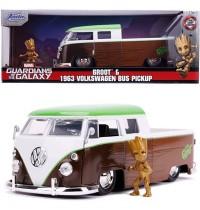Jada Toys - Marvel Groot 1963 Volkswagen Bus 1:24