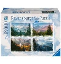 Ravensburger Spiel - Märchenschlößer in 4 Jahreszeiten