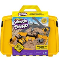 Spin Master - Kinetic Sand - Construction Site Folding Sand Box