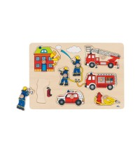 Steckpuzzle Feuerwehr