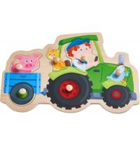 HABA® - Greifpuzzle Lustige Traktorfahrt