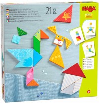 HABA® - Legespiel Bunter Tangram-Mix