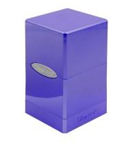 Amethyst Satin Tower Deck Box