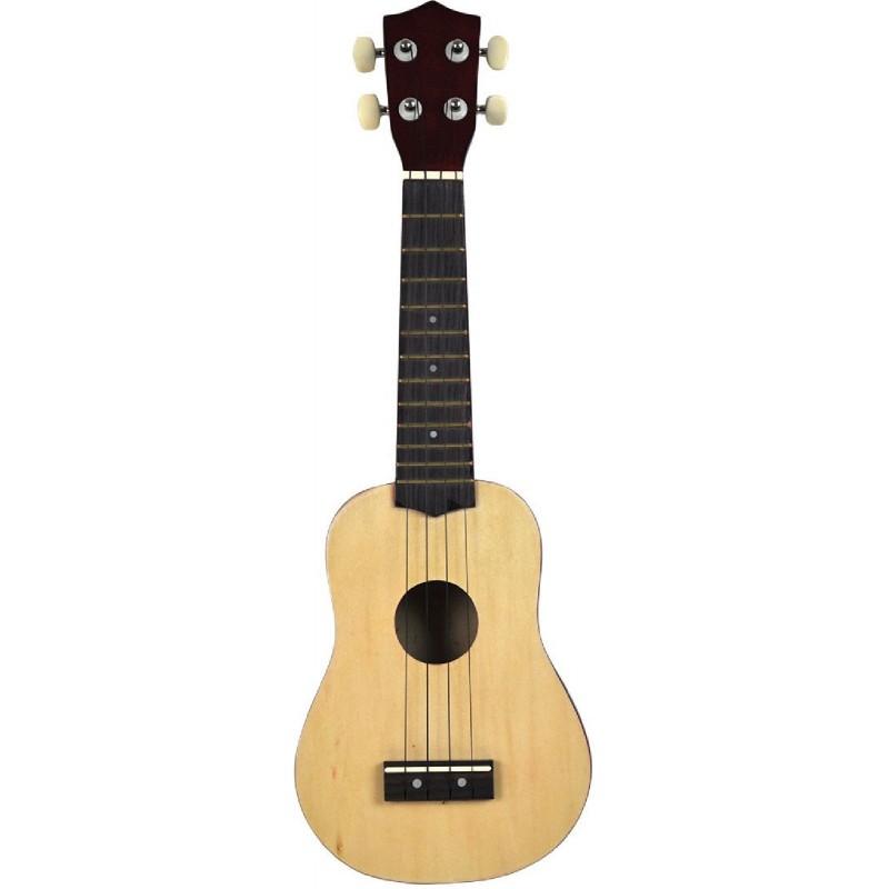 Voggenreiter - Mini-Gitarre Ukulele Holz Natur