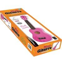 Voggenreiter - Mini-Gitarre Ukulele Pink