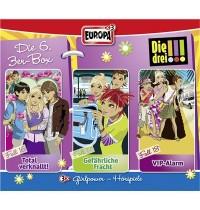 Europa - Die drei !!! CD-Box Folgen 16 - 18