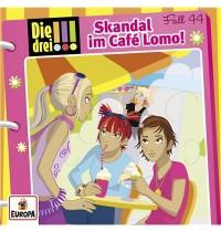 Europa - Die drei !!! Skandal im Cafe Lomo!