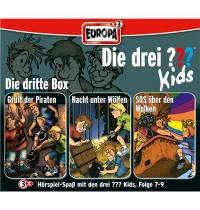 Europa - Die drei ??? Kids 3er Box Folgen 7 - 9