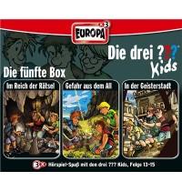 Europa - Die drei ??? Kids 3er Box Folgen 13 - 15