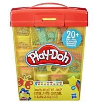 Hasbro - Play-Doh - Großes Knetset mit Aufbewahrungsbox