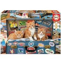 Educa - Travelling kittens 200 Teile