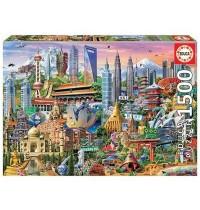 Educa - Asia Landmarks 1500 Teile