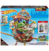 Mattel - Hot Wheels® Megacity Parkgarage mit T-Rex-Angriff