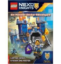 Buch Lego KNIGHTS,Sticker-Rät