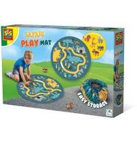 SES Creative - Safari Spielmatte und Aufräumsack 2 in 1