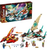 LEGO® Ninjago 71748 - Duell der Katamarane