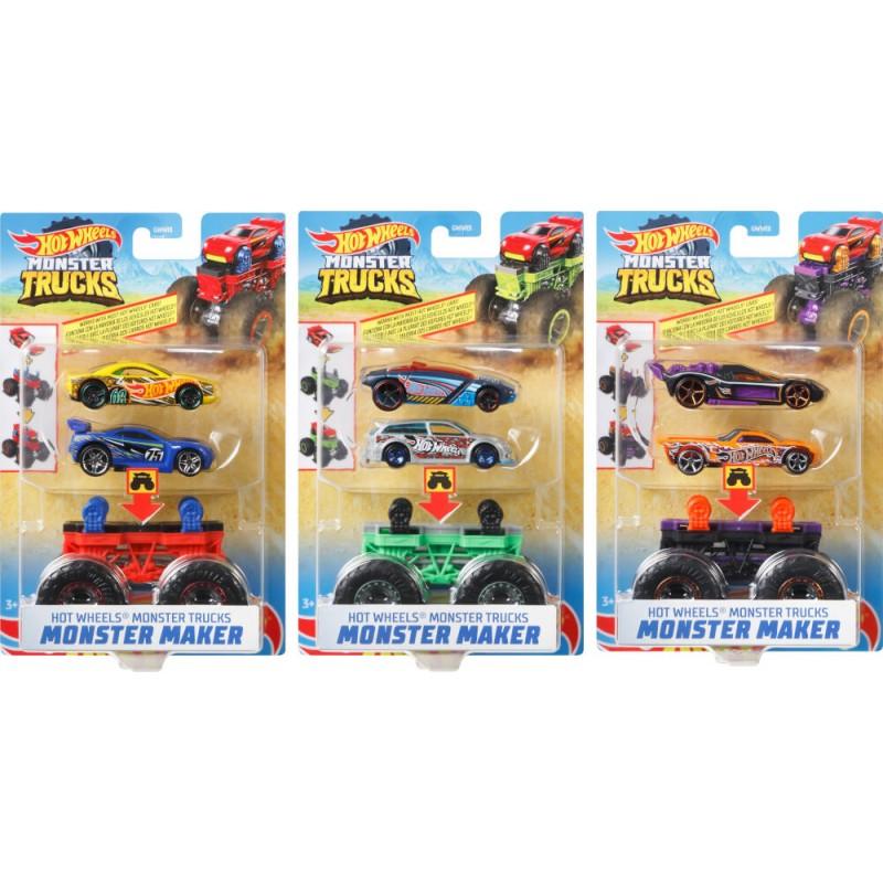 Mattel GWW13 Hot Wheels® Monster Trucks 1:64 Monster Maker