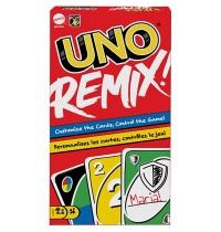 Mattel - Mattel Games UNO Remix individuell gestaltbares Kartenspiel