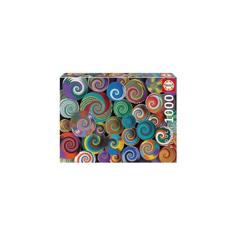 Educa - Afrikanische Körbe 1000 Teile Puzzle