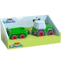 HABA - Kullerbü - Traktor mit Anhänger