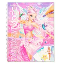 Depesche - Create your Fantasy Model - Malbuch mit Stickern